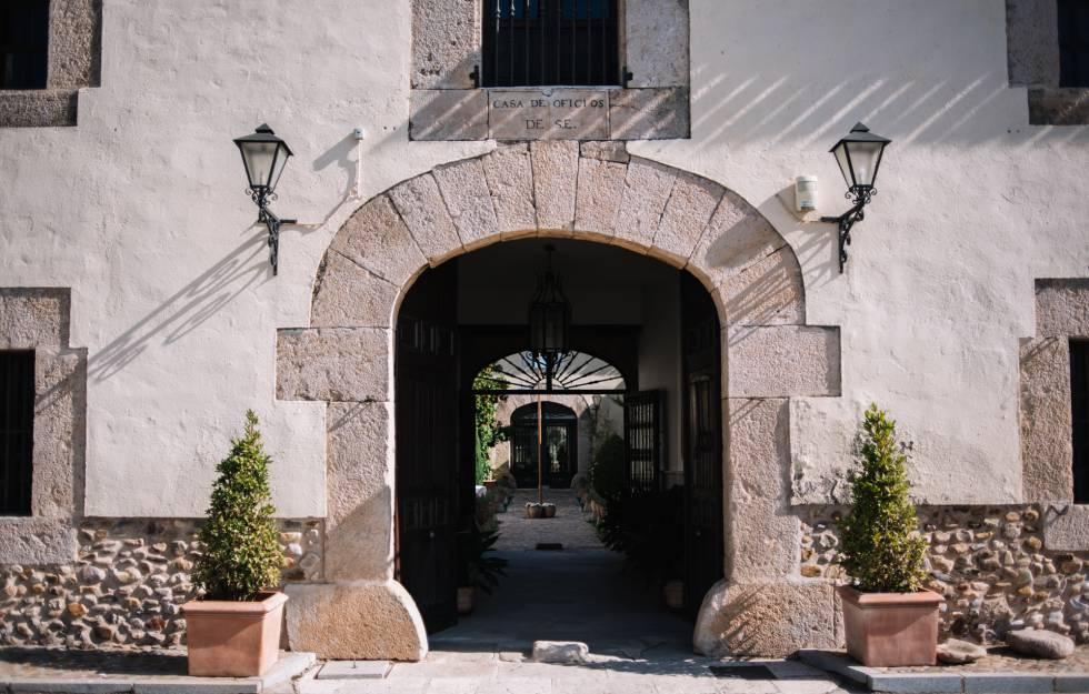 La Casa de Oficios, en la finca de Torrelaguna.