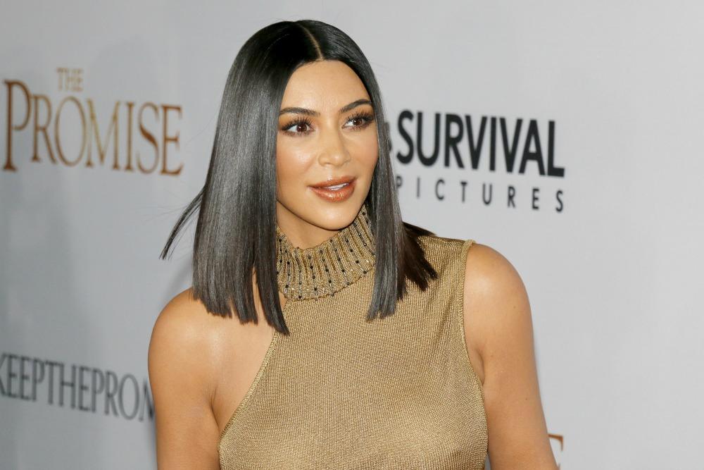 Kim Kardashian Straight Hair Dry Hair Hair