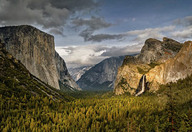 San Francisco South self drive motorcycle tour - Yosemite