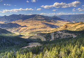 Canadian Rockies and Yellowstone Park Guided Motorcycle Tour