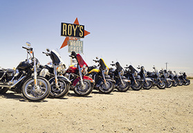 USA route 66 guided motorcycle tour - Las Vegas