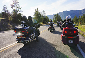 Yellowstone self-drive motorcycle tour - Bozeman