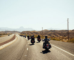 Wild West Guided Motorcycle Tour