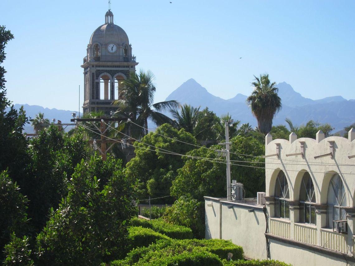Loreto Baja California.  First Capitol of the Californias