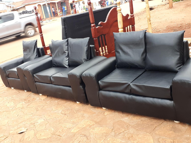 Black Leather Sofa Sets In Kampala Furniture Christian Josh Jiji Ug