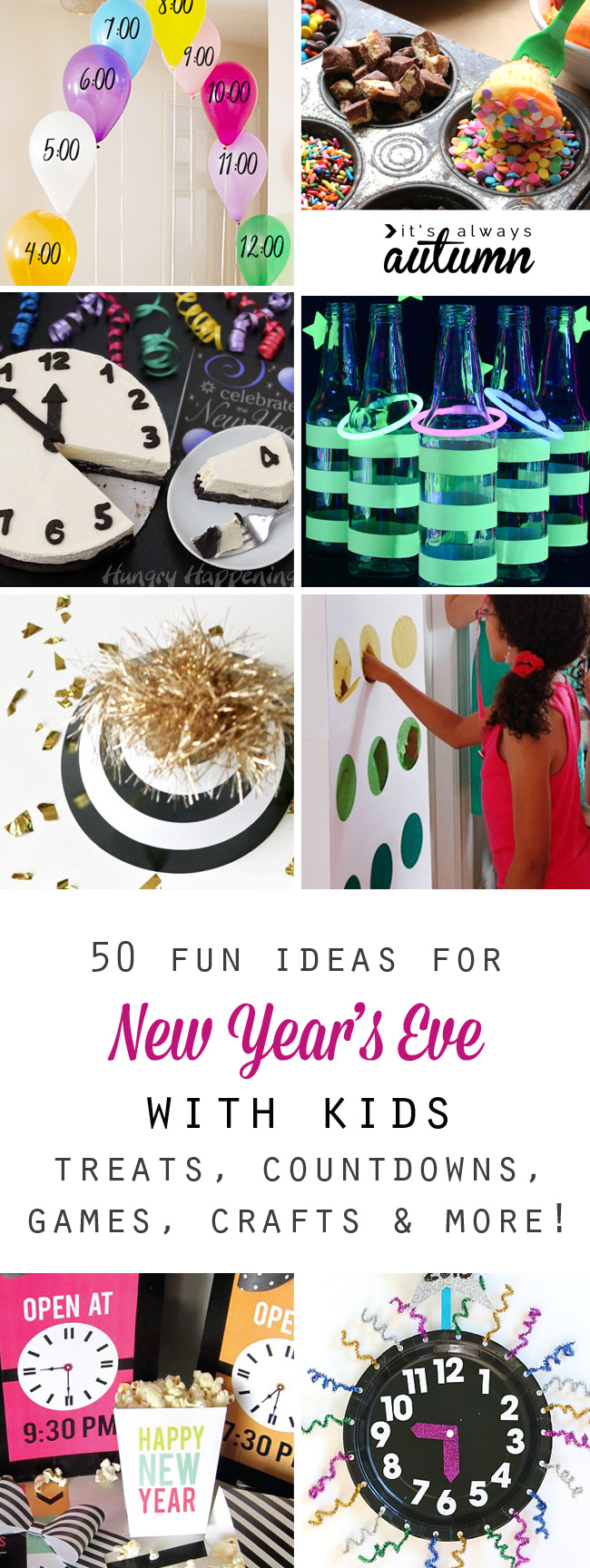 40+ Kid-Friendly New Year's Eve Party Ideas