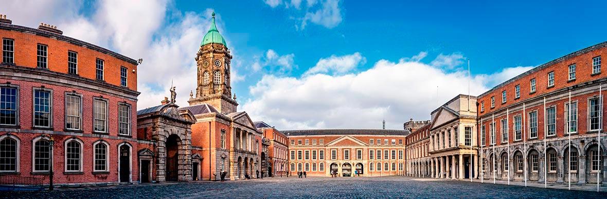 De binnenplaats, Dublin Castle