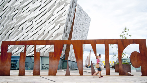 Exterior of Titanic Belfast