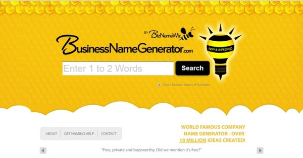 free catchy business names generator # 19