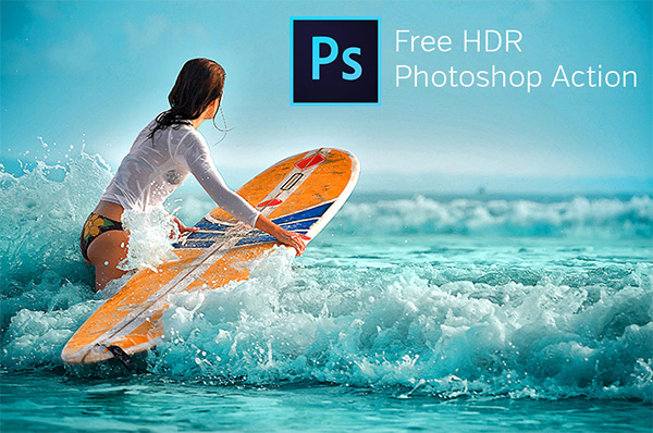 HDR Photoshop Action
