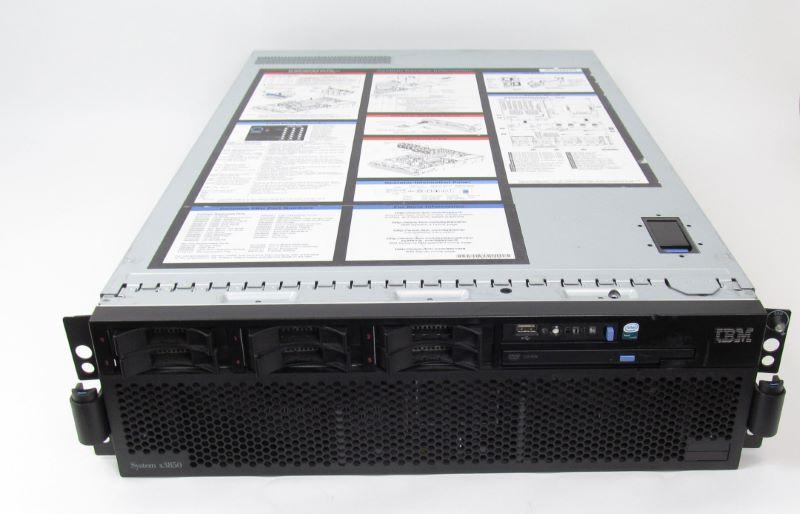 ibm 8864 4ru system xseries 3850 rack