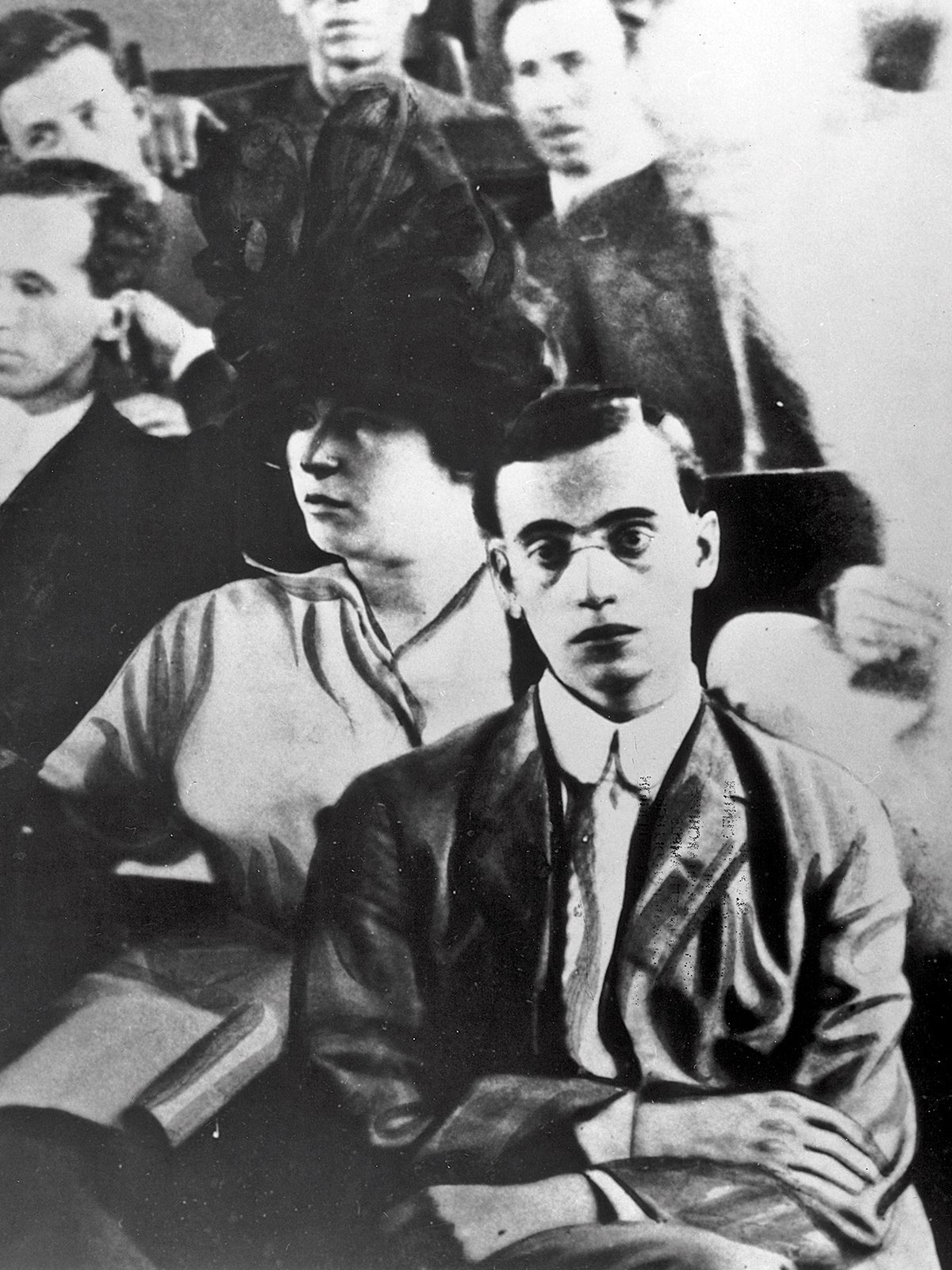 Leo Frank at his trial in 1913