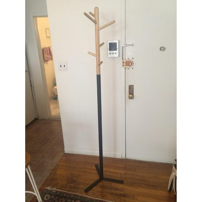 cb2 peg coat rack