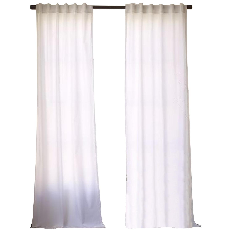West Elm Cotton Canvas Curtains
