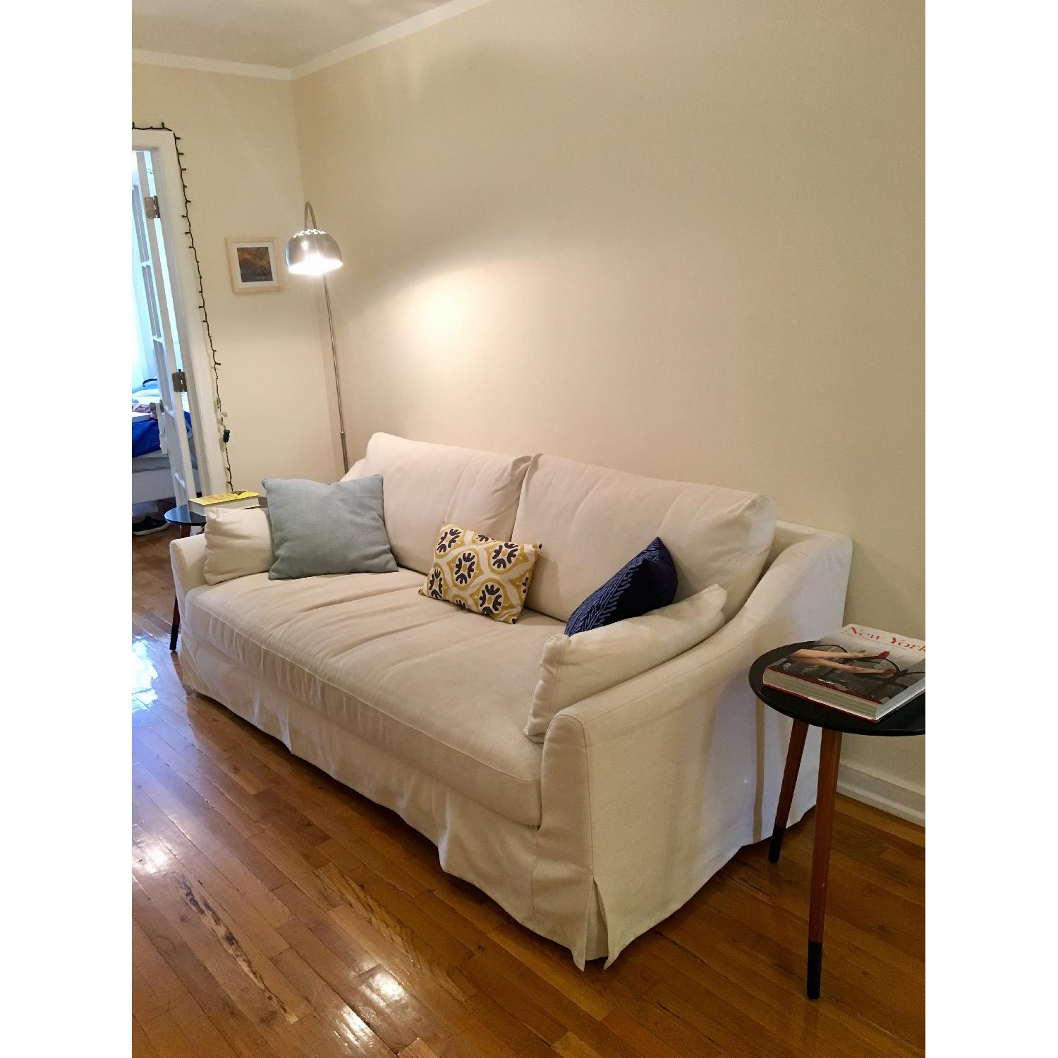 Product key features · suitable for. Ikea Farlov Sofa White - Test 6
