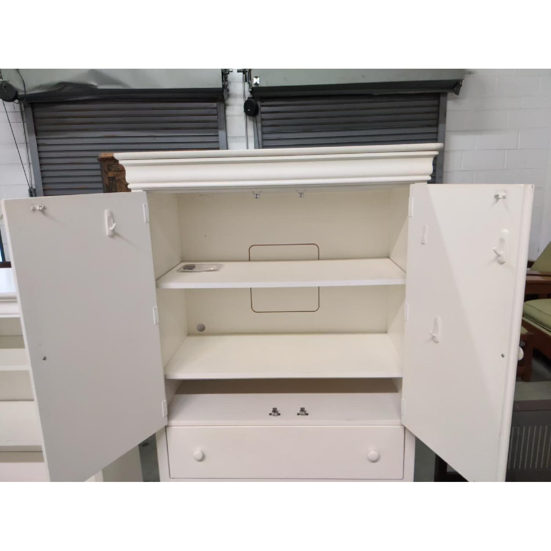 stanley girls white armoire