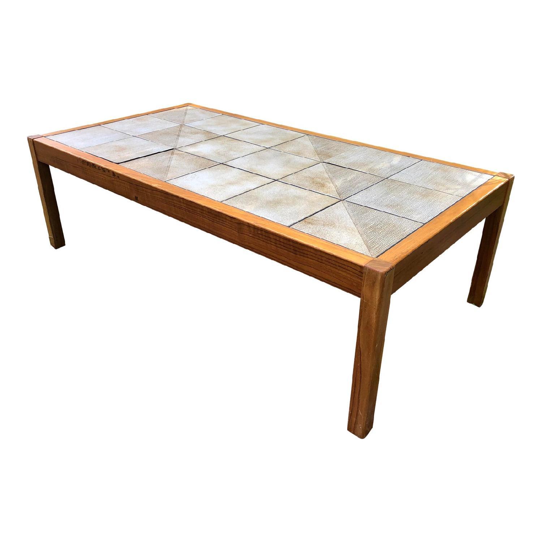 mobler vintage danish tile coffee table