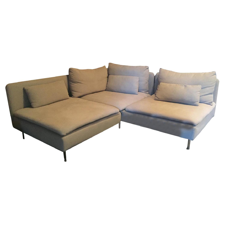 ikea soderhamn sectional sofa