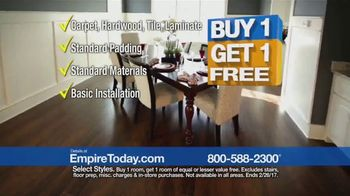 empire today buy one get one free sale tv commercial carpet hardwood tile