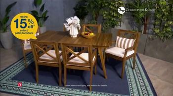 overstock com labor day blowout tv commercial patio furniture