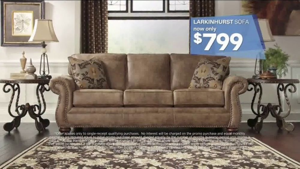 Ashley HomeStore Labor Day Event TV Commercial Beat The Crowds ISpottv
