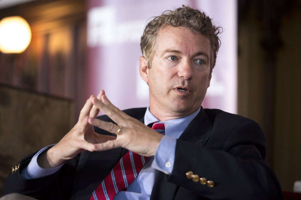 Image result for image of rand paul obamacare replacement