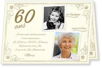 modele texte invitation anniversaire 60 ans femme gwyneth