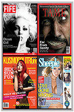 4 Popular Magazine Covers Templates - 40