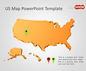 Maybe you're a homeschool parent or you're just looking for a way to supple. Free Us Map Powerpoint Template Free Powerpoint Templates Slidehunter Com