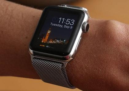 Vers un électrocardiographe intégré dans la montre — Apple Watch