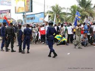 RDC: huit morts dans des manifestations interdites