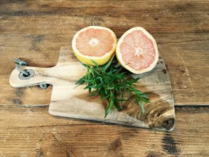 Pink Grapefruit and Tarragon Infused Gin