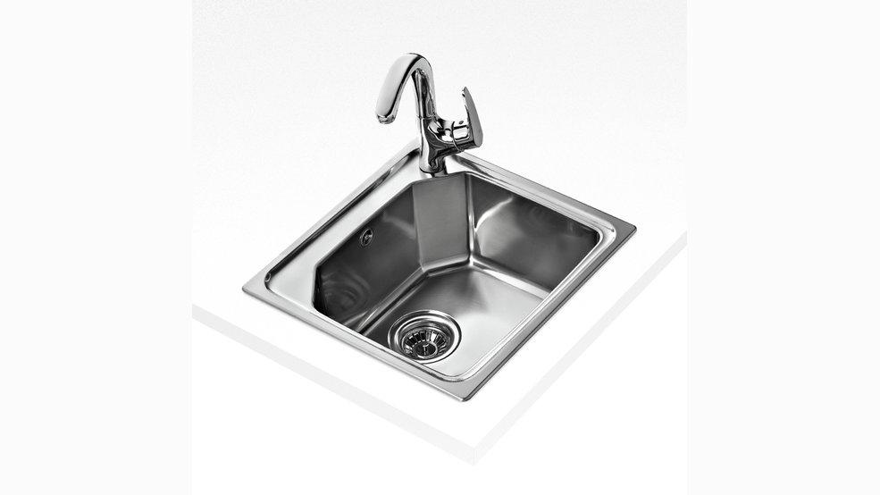 teka premium 1b stainless steel sink