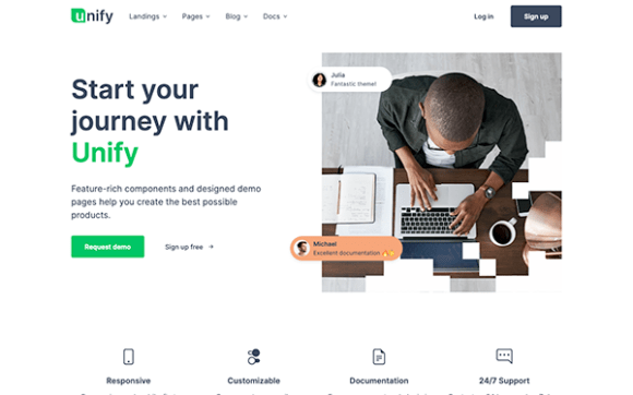 Unify - Responsive Website Template | Business & Corporate ...