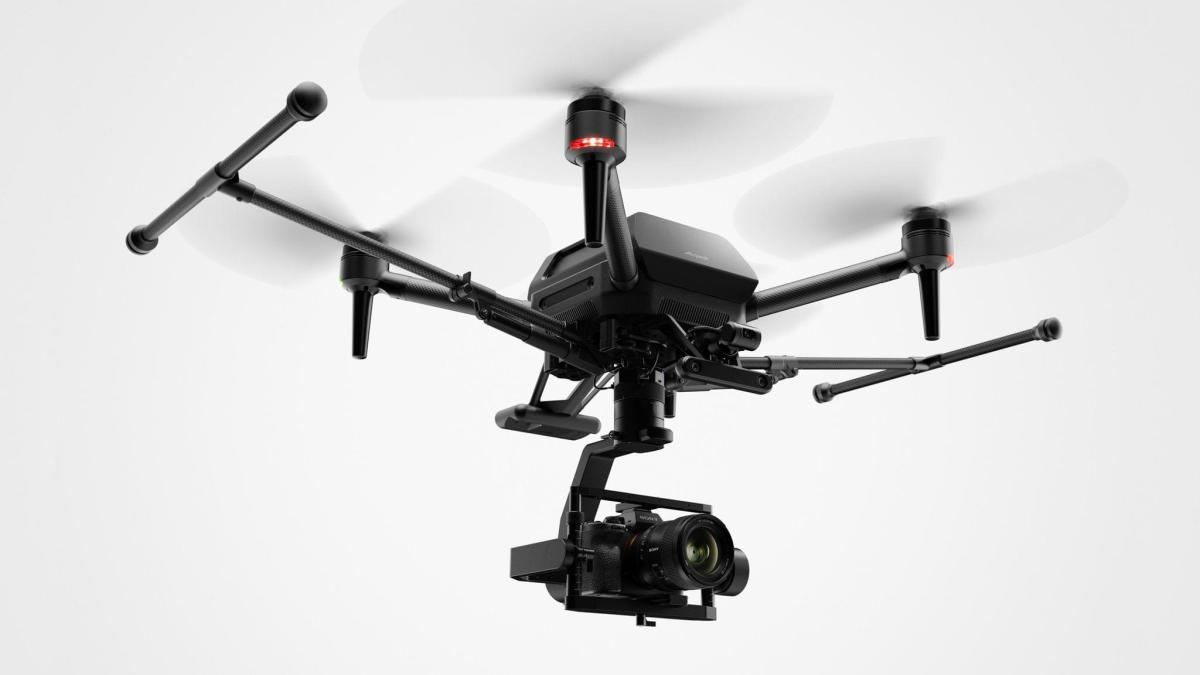 Sony's Airpeak drone. Source: Sony.