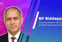 3 things that make HUL click: People, Brands and Data   BP Biddappa, Executive Director HR, HUL & VP HR, South Asia at Unilever
