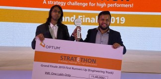 Tying the case bits with machine learning and front end development National Runners Up of Optum Stratethon