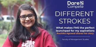 What makes FMS the perfect launchpad for my aspirations? | Ruchika Agrawal shares her story