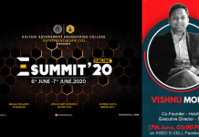 KGEC E SUMMIT 2020 Get to know the man behind the revolution of Indian Regional OTT platform