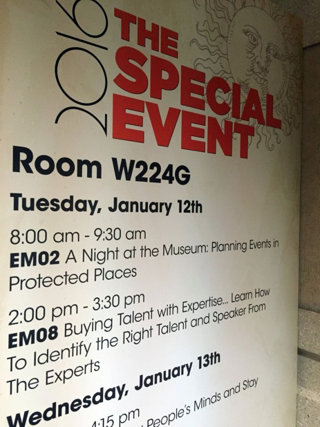 The Special Event - Buying Entertainment