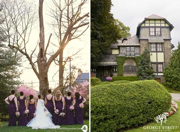 Knowlton Mansion Wedding | Philadelphia Wedding