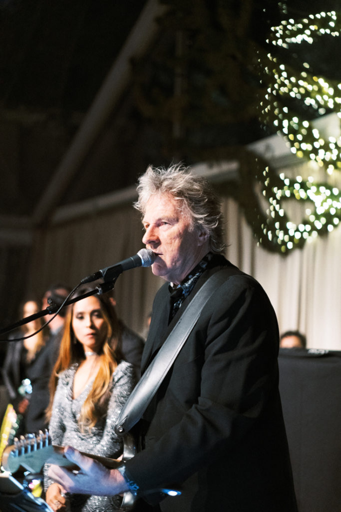 Powerhouse Band performing during wedding reception in New Orleans.