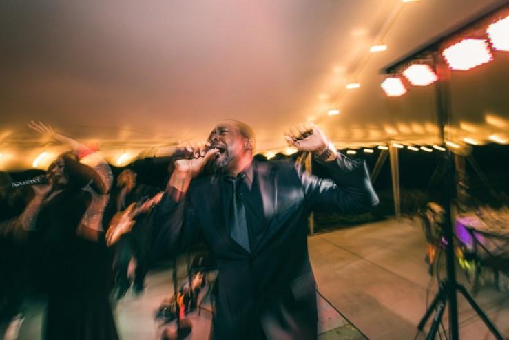 Right to Party band performing at Greenboro, NC wedding.