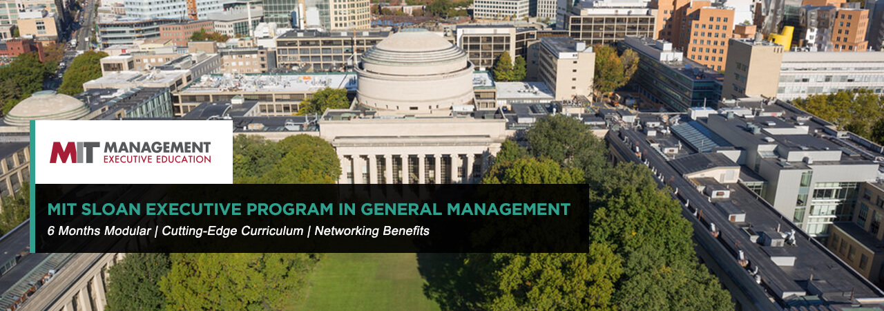 MIT Sloan Executive Program in General Management (EPGM)