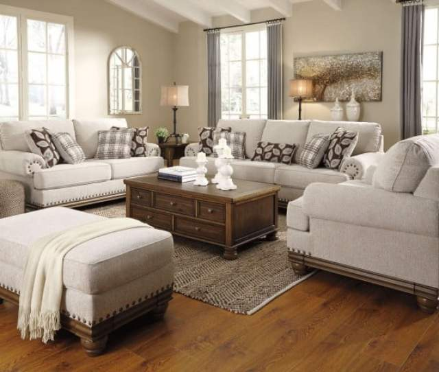 Looks Great With Image Of Item Harleson Wheat Living Room Set