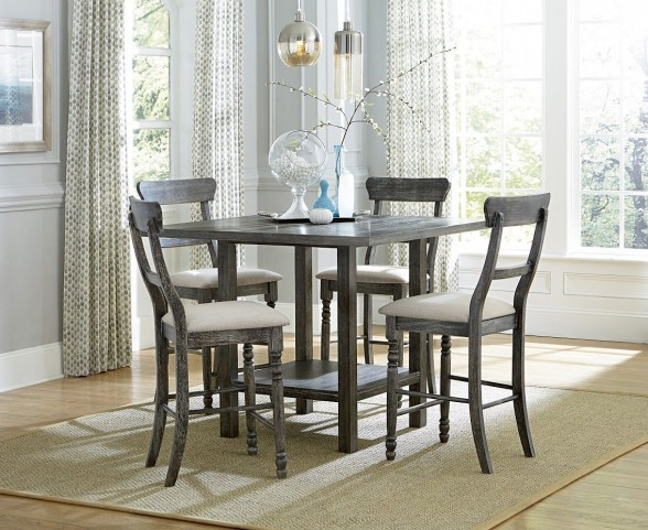 Muses Dove Gray Counter Height Dining Room Set From