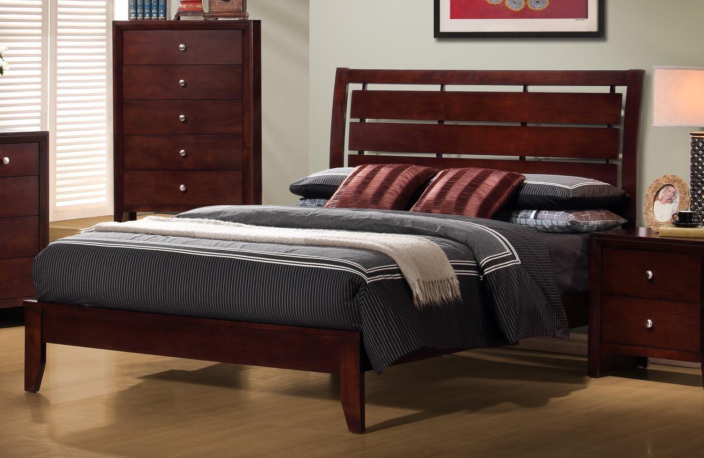 Serenity Eastern King Bed From Coaster Ke
