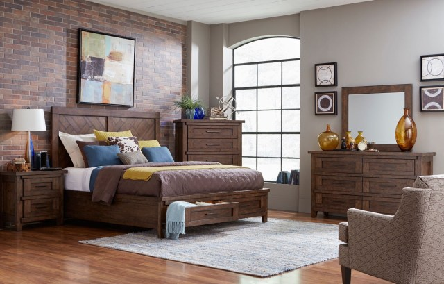 Pieceworks Panel Storage Bedroom Set from Broyhill