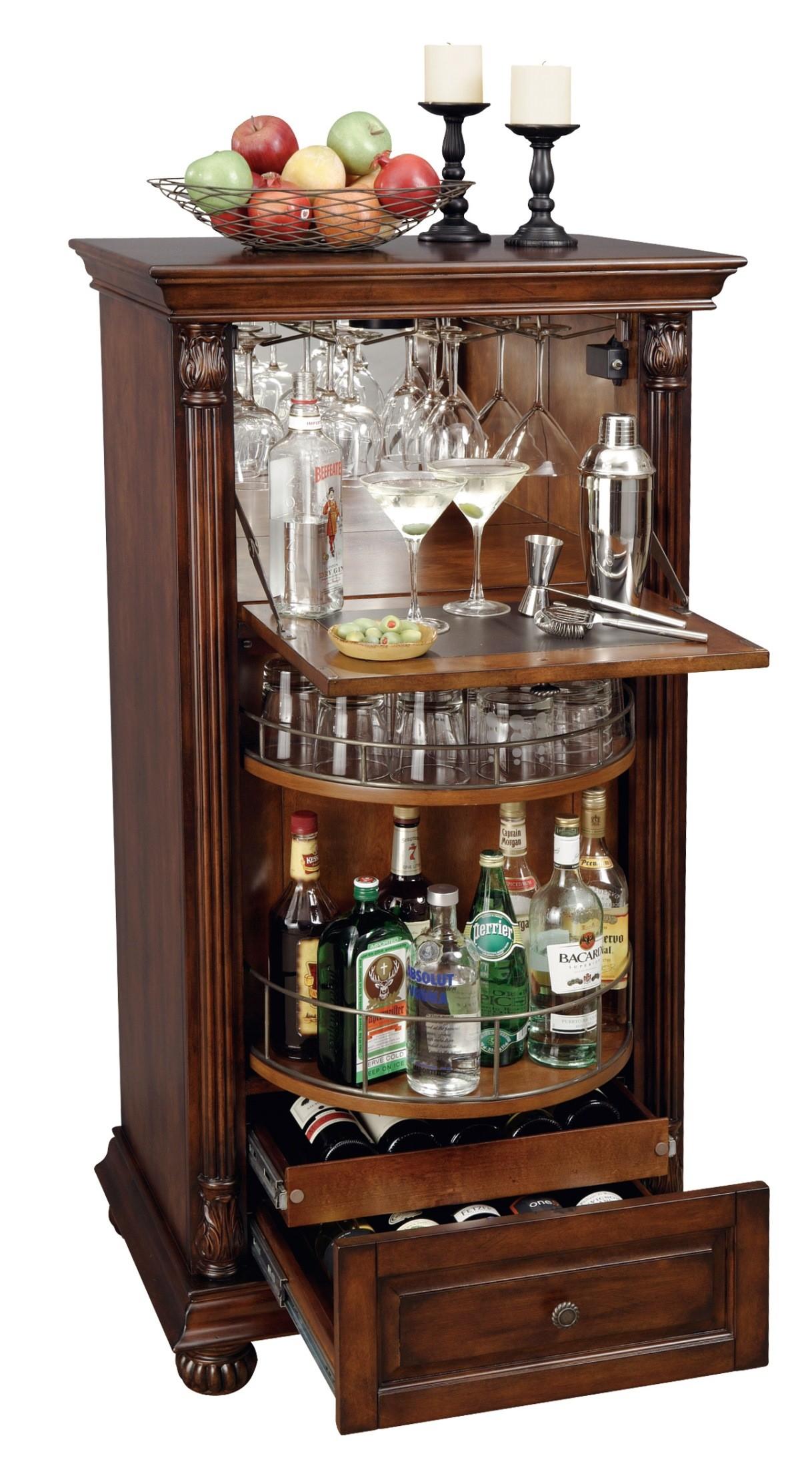 Cognac Wine Amp Bar Cabinet From Howard Miller 695078