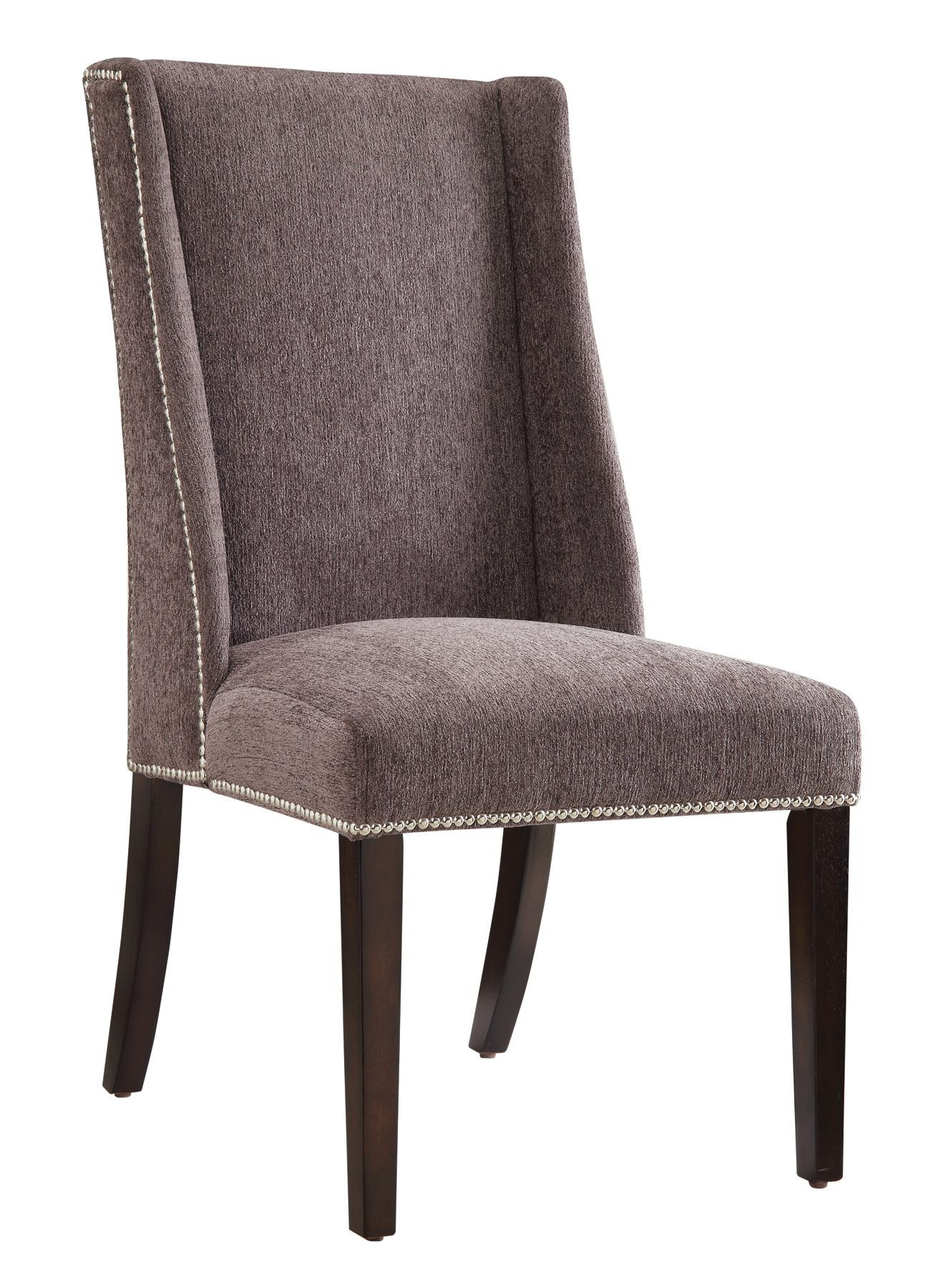 Grey Accent Chair Set Of 2 From Coaster